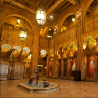 see the beautiful and historic Los Angeles Fine Arts Building